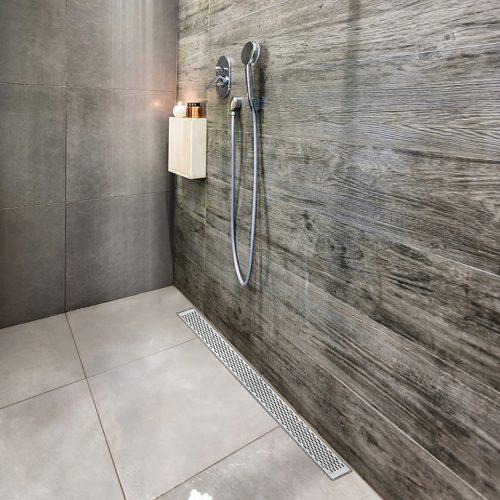 Delta Linear Drain Qm Drain Center Linear Shower Drains