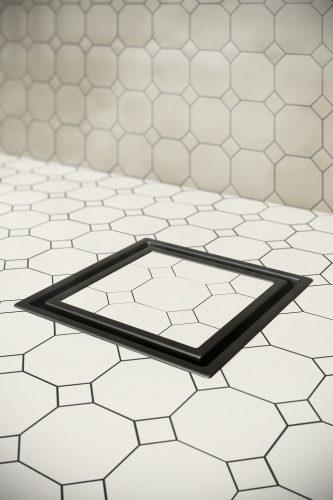 Veil Tile In Center Drain Qm Drain Center Amp Linear