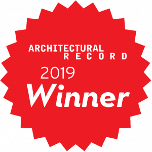 Award Winner Architectural Record 2019