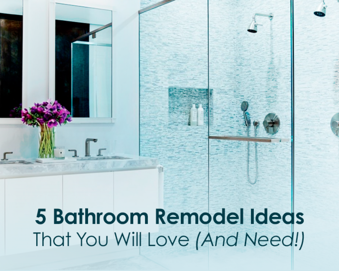 Remodeling Bathroom Need Ideas 5 bathroom remodel ideas that you will love (and need!) - qm drain