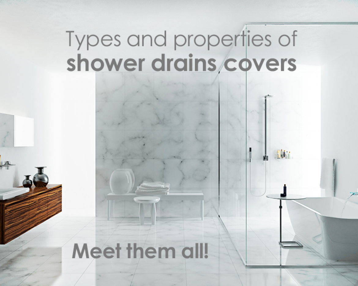 Charmant Meet All Shower Drain Cover Types And Properties